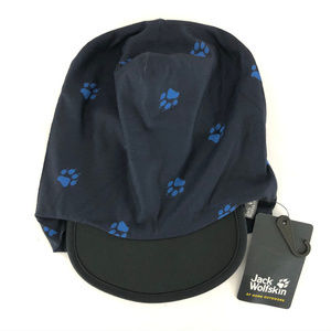 Jack Wolfskin Kids Beanie Headgear Hat Paw Prints